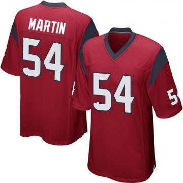 Men's Jacob Martin Houston Texans Nike Game Alternate Jersey - Red