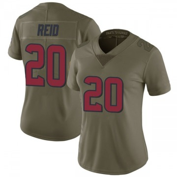 Women's Justin Reid Houston Texans Nike Limited 2017 Salute to Service Jersey - Green