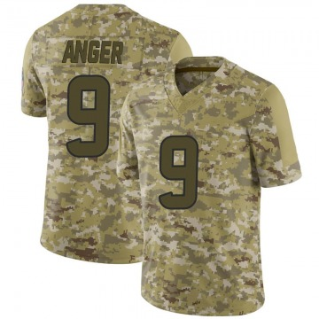 Youth Bryan Anger Houston Texans Nike Limited 2018 Salute to Service Jersey - Camo