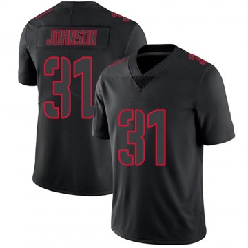 Youth David Johnson Houston Texans Nike Limited Jersey - Black Impact