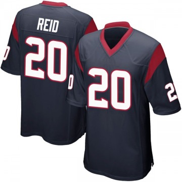 Youth Justin Reid Houston Texans Nike Game Team Color Jersey - Navy Blue